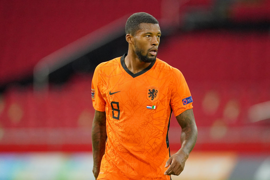 According to Sky Sports, Gini Wijnaldum is set for 'crucial talks' with Jürgen Klopp and Liverpool this week