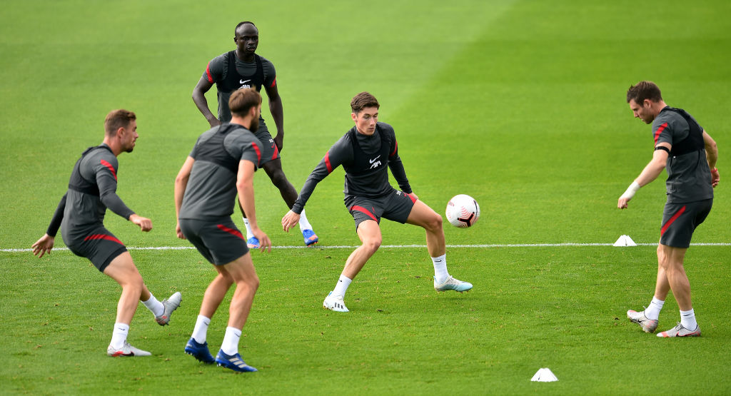 Liverpool Training Session - Harry Wilson