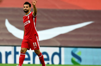 Twitter has reacted after Mo Salah tore Leeds United apart