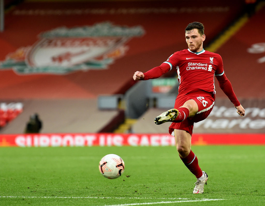 John McGinn has summed up how Andy Robertson has reacted to the defeat with one word.