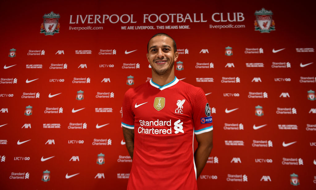 Liverpool have apparently signed Thiago in time for him to face Chelsea on Sunday.