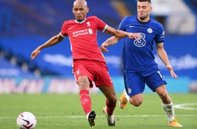 Fabinho showed he is more than capable of being the fourth choice centre back.
