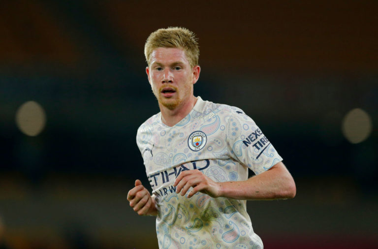 Speaking ahead of this season's fight for the trophy, Kevin de Bruyne admitted Liverpool pose a tough challenge.