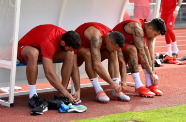 Liverpool Pre-Season Training Camp