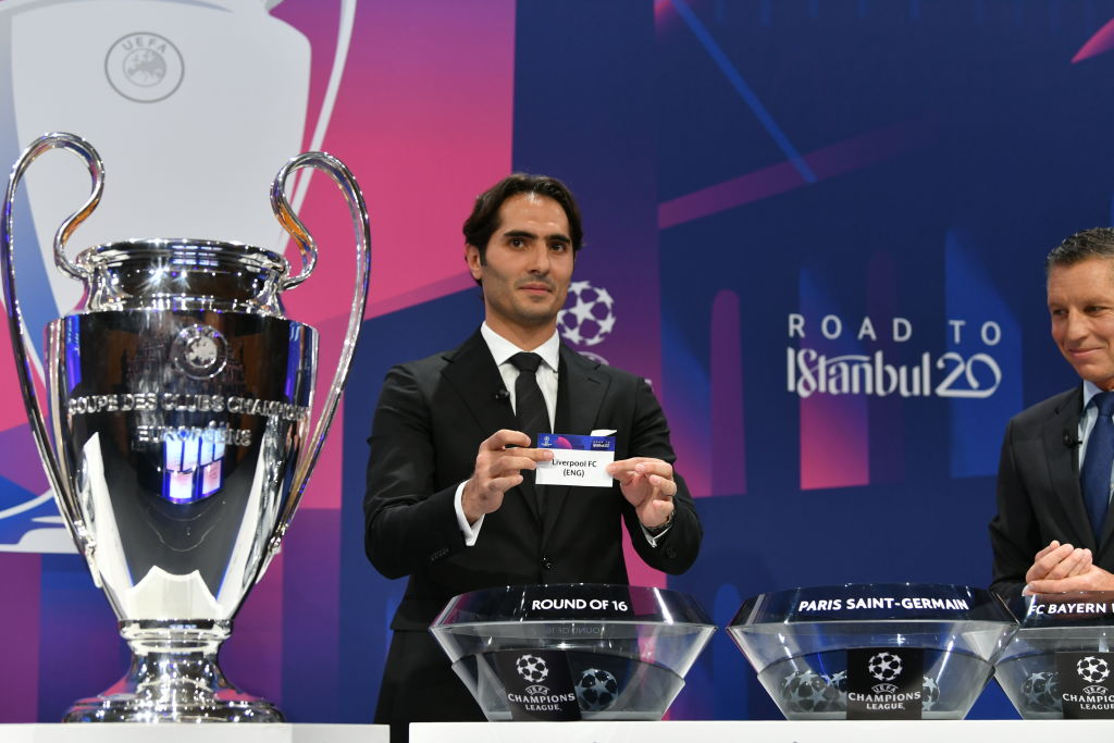 UEFA Champions League 2019/20 Round of 16 Draw