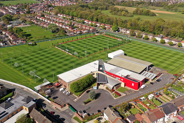 Aerial Views Of Melwood Training Ground As Football Remains Suspended Due To Coronavirus