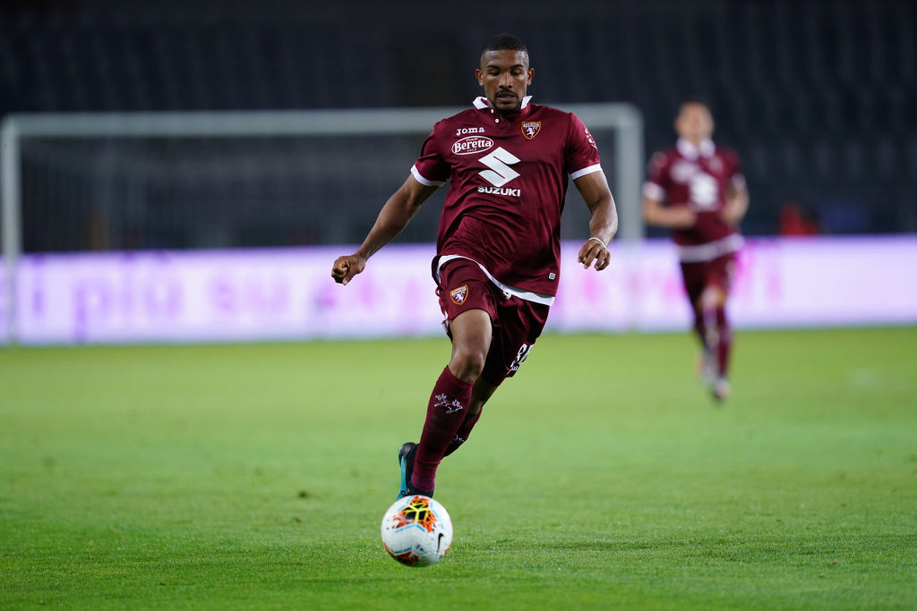 Gleison Bremer of Torino FC in action   during the Serie A