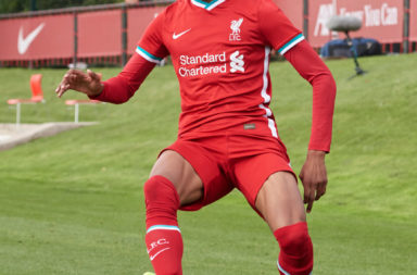 Harvey Blair has signed his first professional contract with Liverpool.