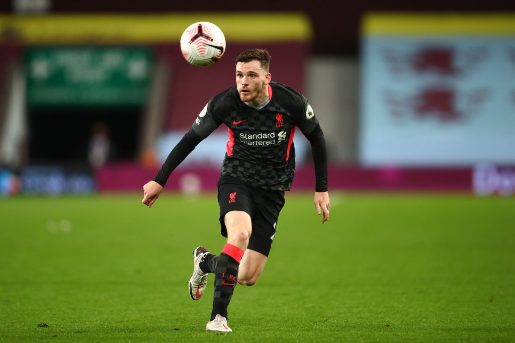 Andy Robertson is having the season of his life.