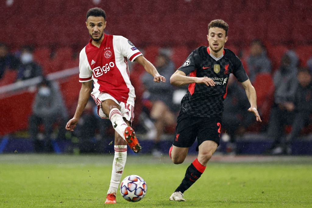 "UEFA Champions League Group D""Ajax Amsterdam v Liverpool FC"" - Diogo Jota"