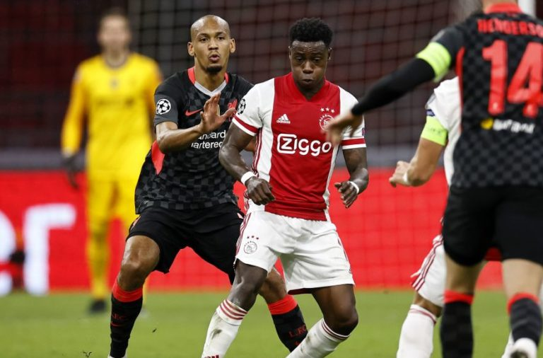 "UEFA Champions League Group D""Ajax Amsterdam v Liverpool FC"""