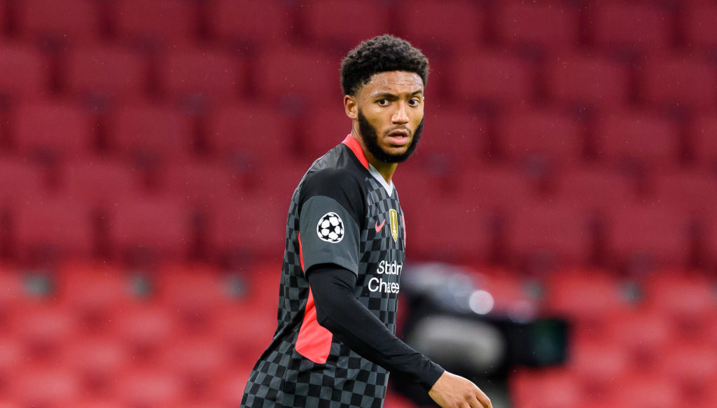 FIFA will reportedly pay Liverpool compensation over Joe Gomez