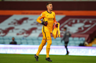 Emile Heskey has said that Adrian can't be blamed for the chances that Aston Villa created.