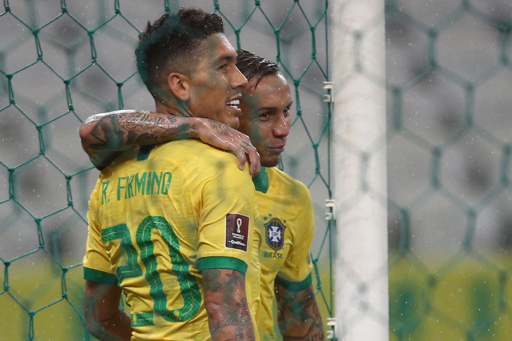 Roberto Firmino has discussed a tactical shift which has helped him for Brazil.