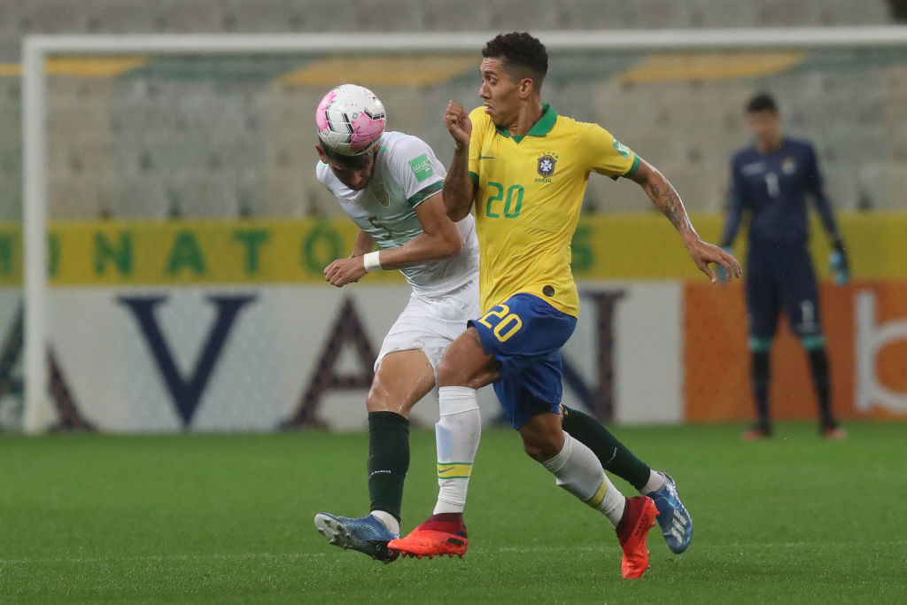 Liverpool fans are made up that Roberto Firmino has scored twice for Brazil.