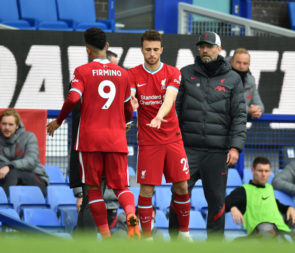 Jurgen Klopp could have a new preferred front-three at Liverpool