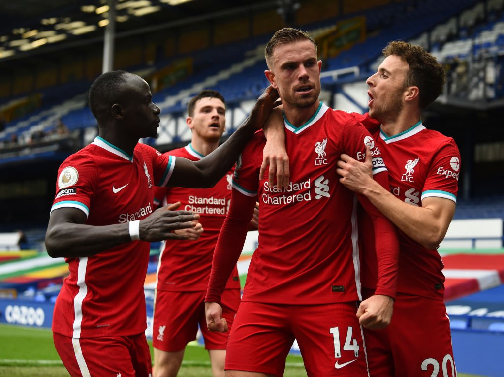 Everton v Liverpool - Premier League - Jordan Henderson