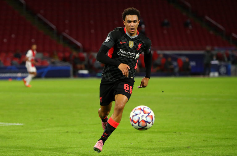 Trent Alexander-Arnold has explained the thinking behind his signature crossfield pass.