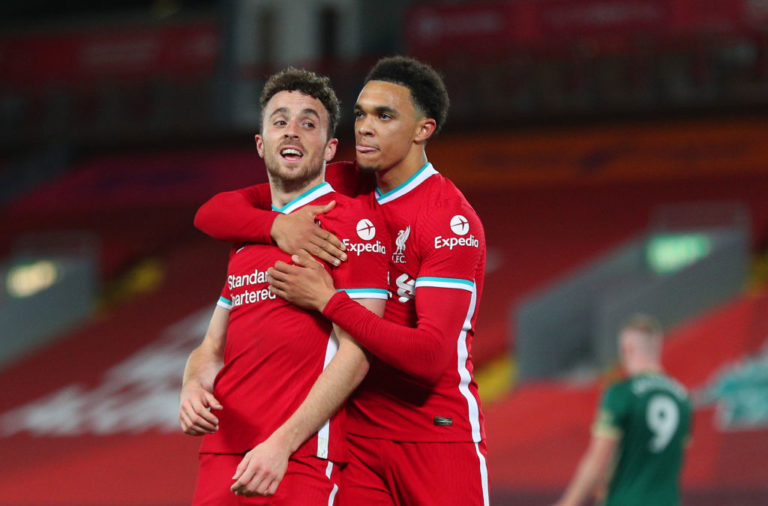 Diogo Jota continues to impress for Liverpool
