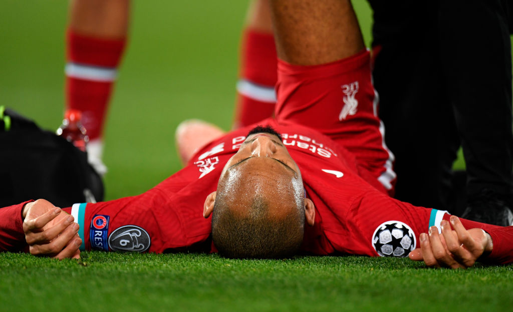 The Mirror has reported a Fabinho injury update
