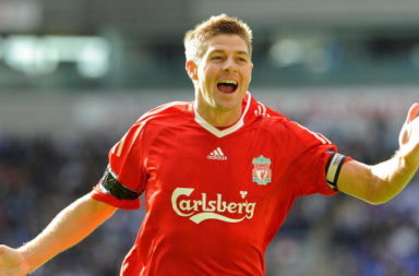Liverpool's English midfielder Steven Ge