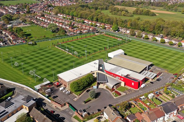 Aerial Views Of Melwood Training Ground As Football Remains Suspended Due To Coronavirus - Jordan Henderson