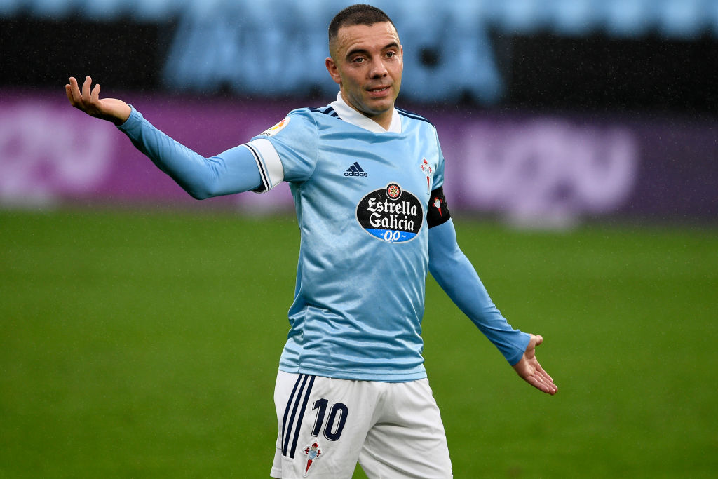 Iago Aspas broke a Celta Vigo record this weekend