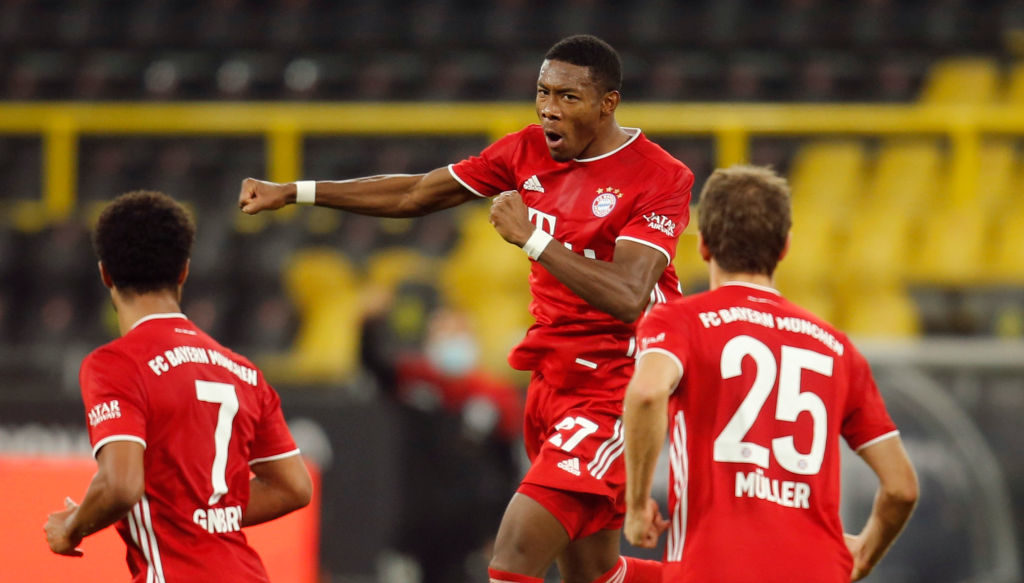 Liverpool reportedly want David Alaba.