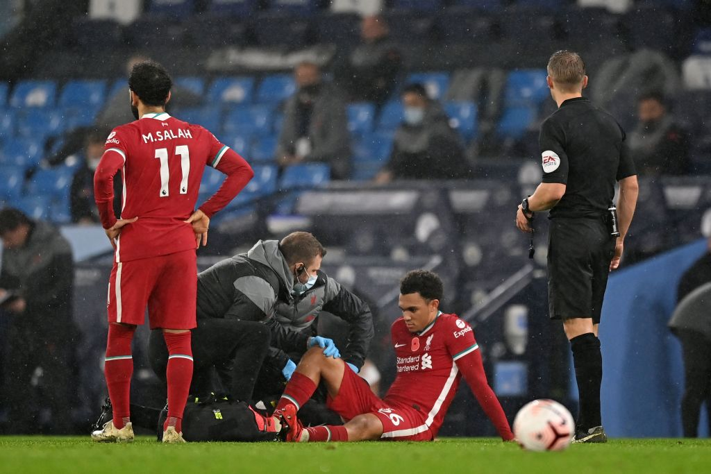 Trent Alexander-Arnold out for four weeks with calf injury