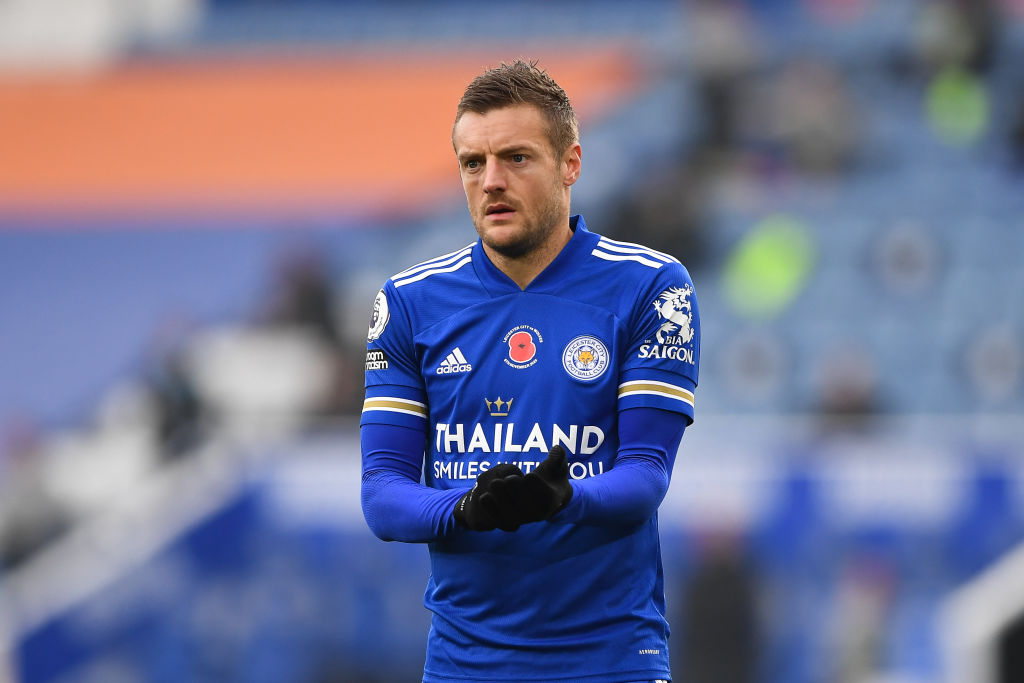Mark Lawrenson has warned Liverpool that Jamie Vardy will be 'scenting blood' tonight.