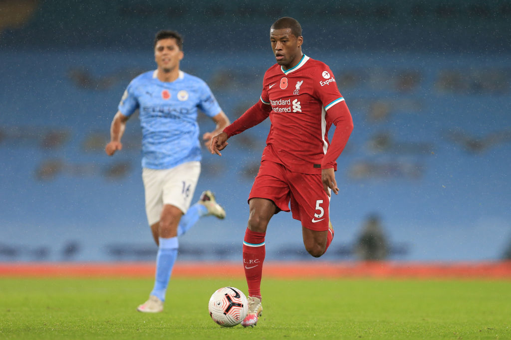 Gini Wijnaldum reportedly agreed a deal with Barcelona.