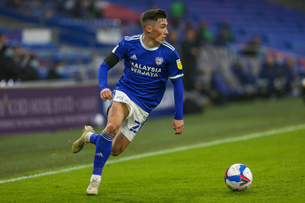 Cardiff City v Luton Town - Sky Bet Championship - Harry Wilson, on loan from Liverpool.