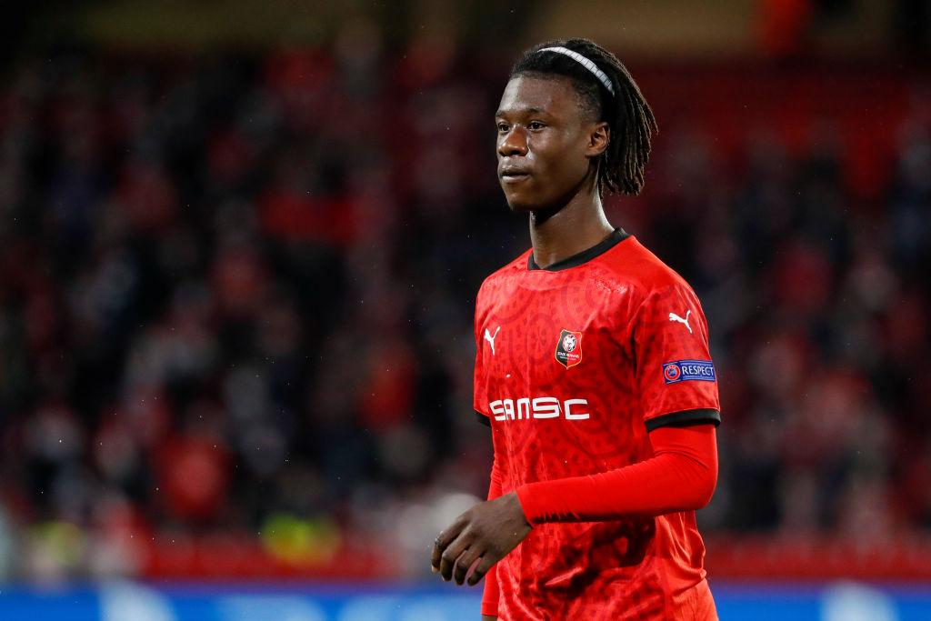 Reported Liverpool target Eduardo Camavinga has opened the door on a move