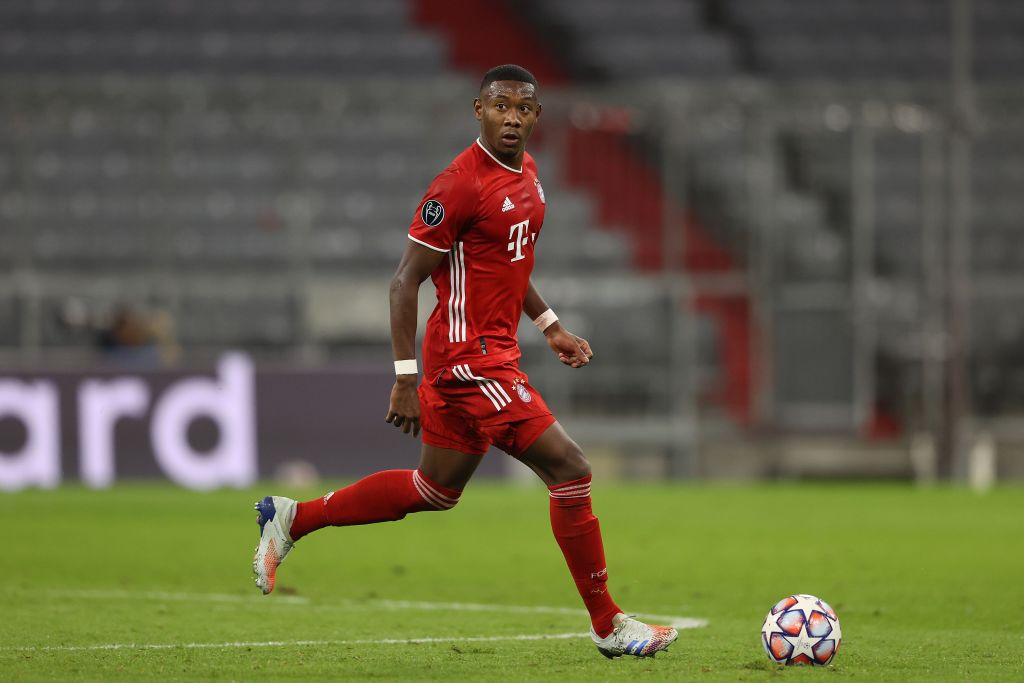 Liverpool want to sign David Alaba and are serious rivals for his signature
