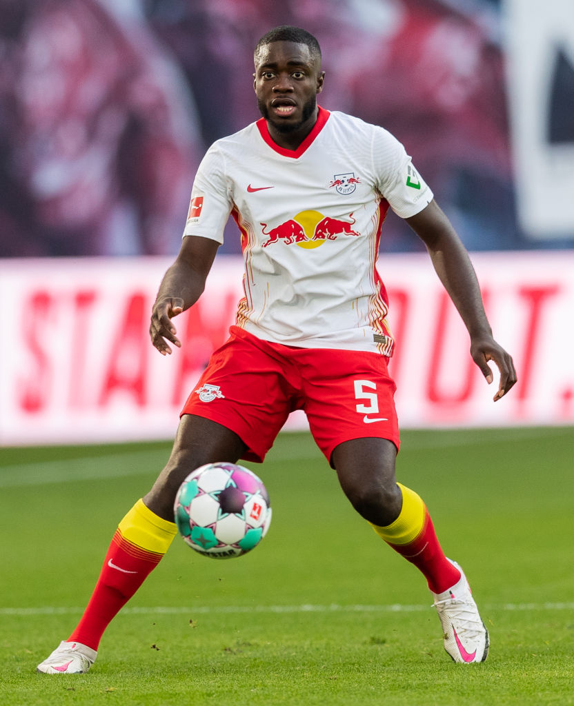 According to claims from Germany, Liverpool target Dayot Upamecano will leave RB Leipzig but not until the summer.