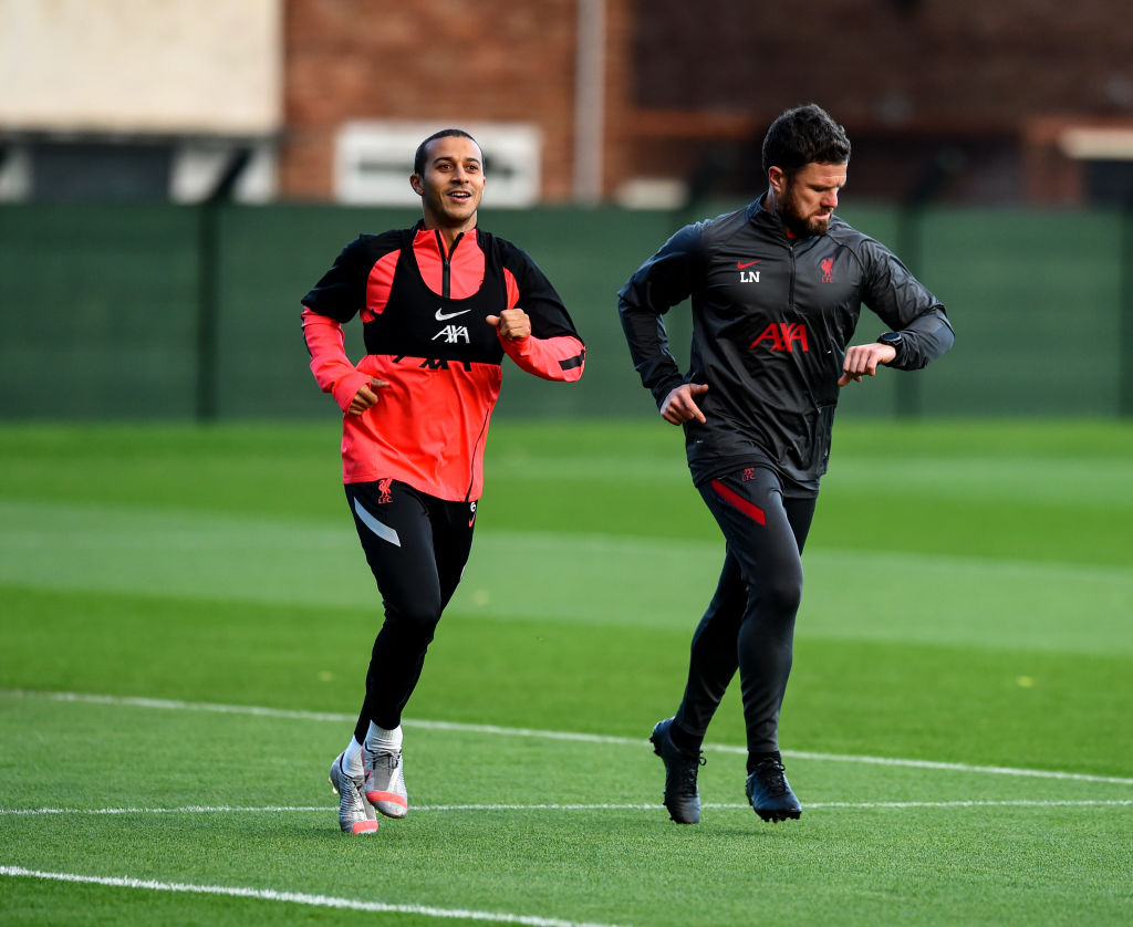 Liverpool Training Session - Thiago