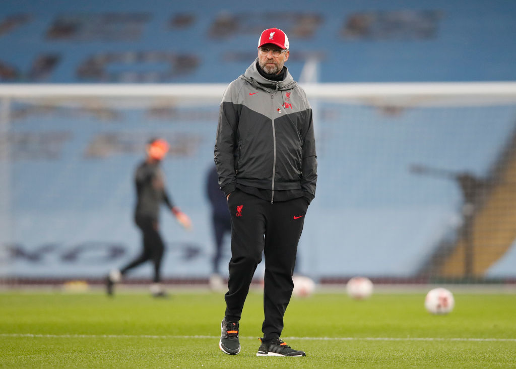 Klopp pulled off a Liverpool masterstroke v Man City by playing two strikers.