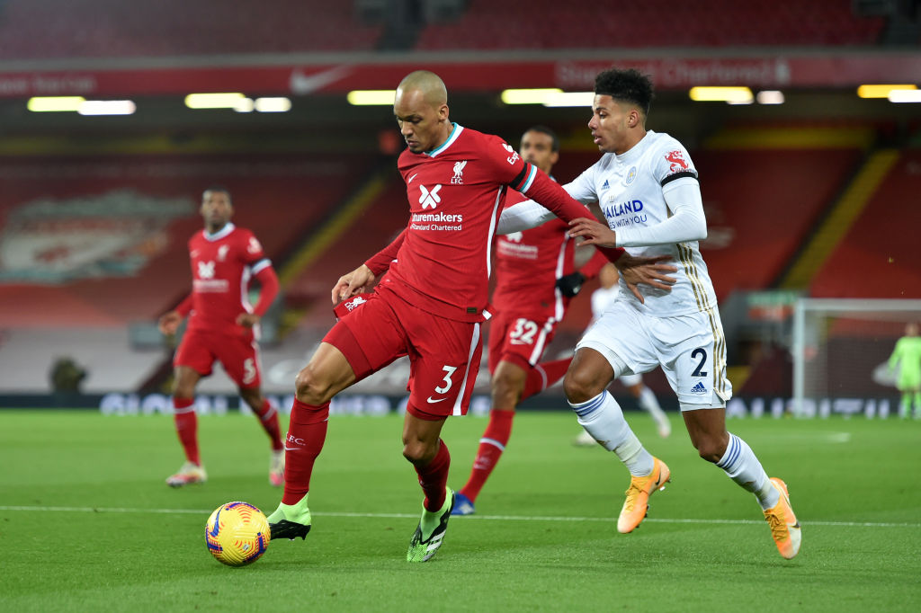 Fabinho v Leicester City - Premier League