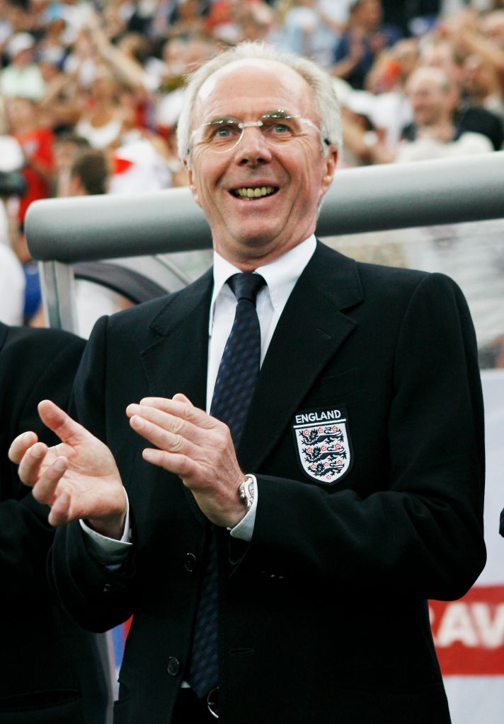 Sven Goran Eriksson has admitted managing Liverpool is his dream.
