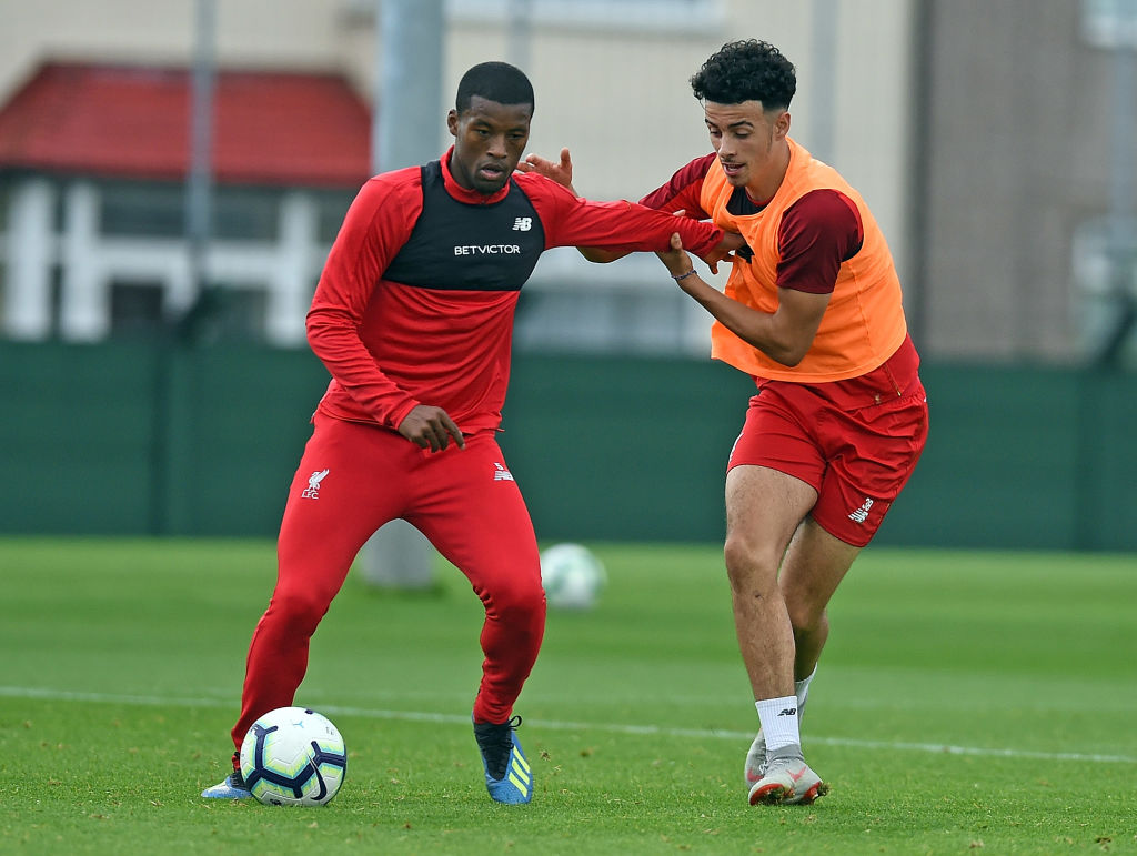 Liverpool losing Gini Wijnaldum could well prove the making of Curtis Jones.