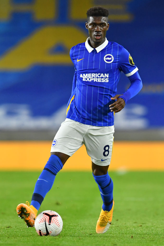 Liverpool reportedly considering a move for Yves Bissouma of Brighton.