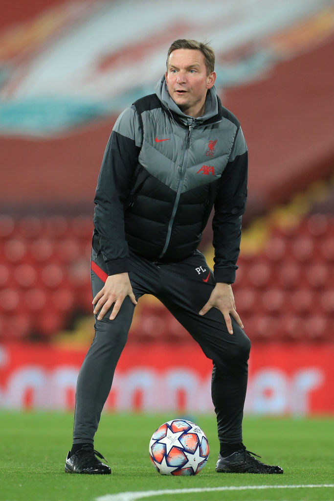 Pep Lijnders has hinted that Liverpool will rely on the academy to provide depth.