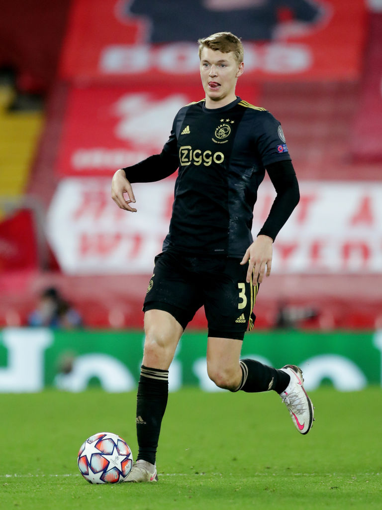 Liverpool chances of signing Perr Schuurs could be boosted if Atalanta beat Ajax.