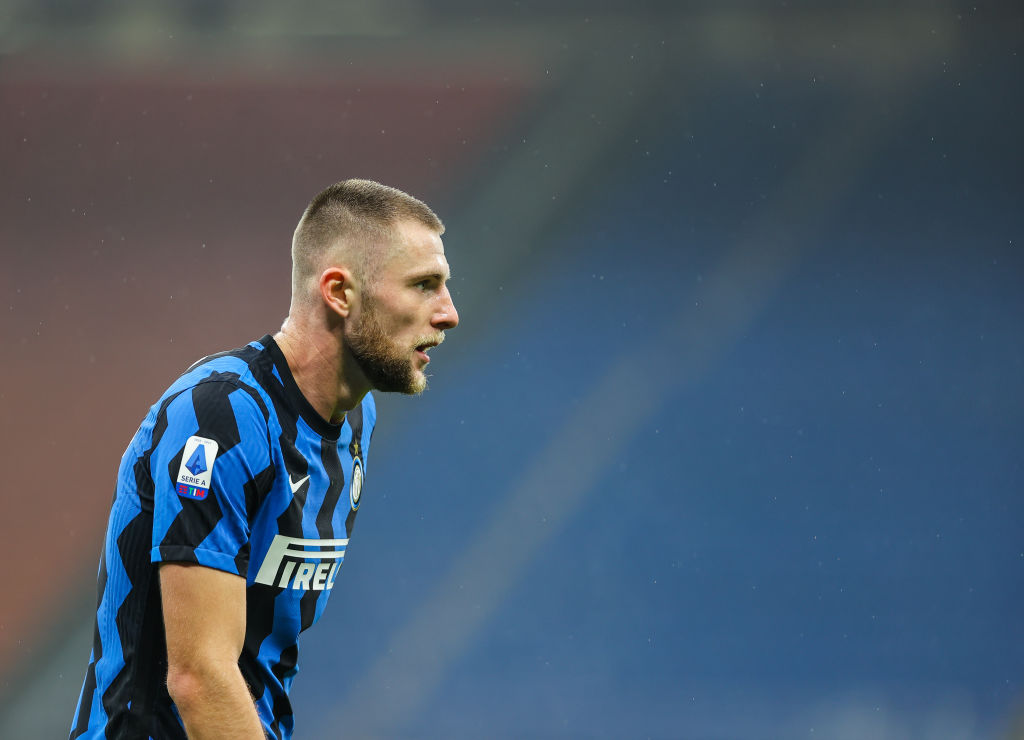 Milan Skriniar of FC Internazionale, in action during the