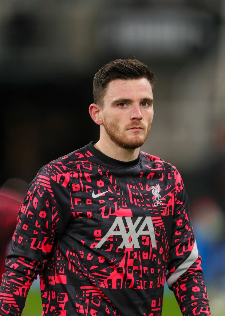 Garth Crooks has named Andy Robertson in his Team of the Year