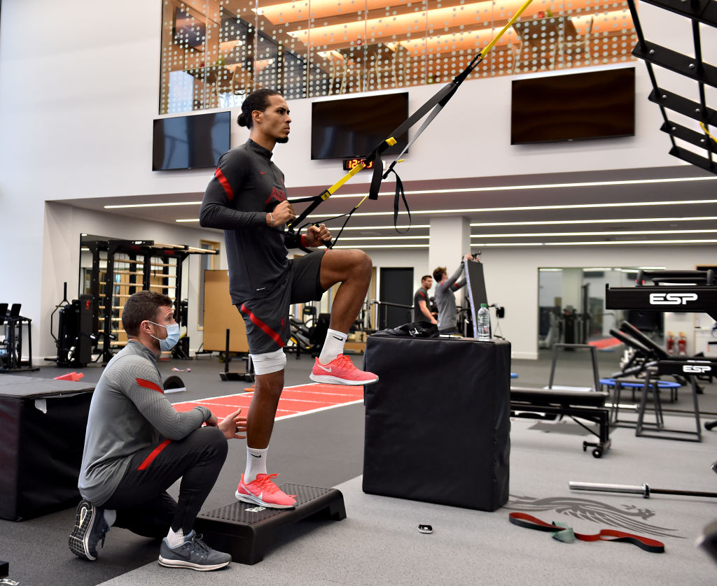 Liverpool fans have been in awe of Virgil van Dijk after he posted an injury update