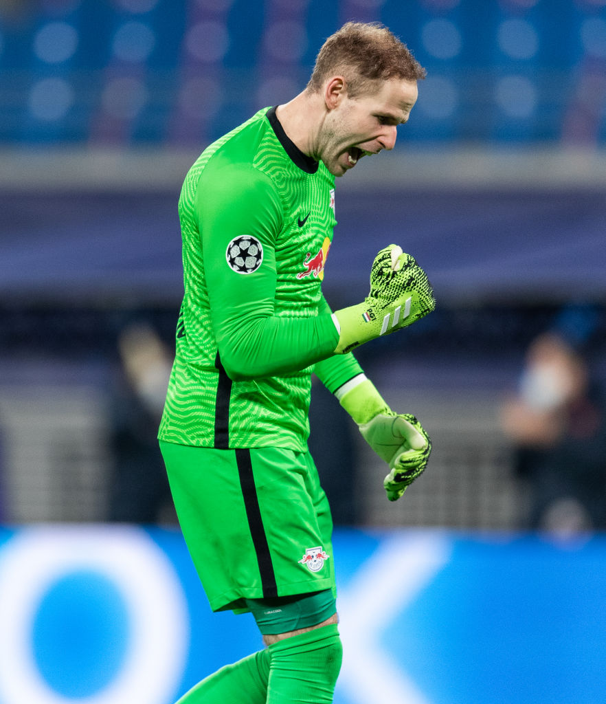 Liverpool fans have celebrated Peter Gulacsi helping Leipzig knock Man United out of the Champions League.