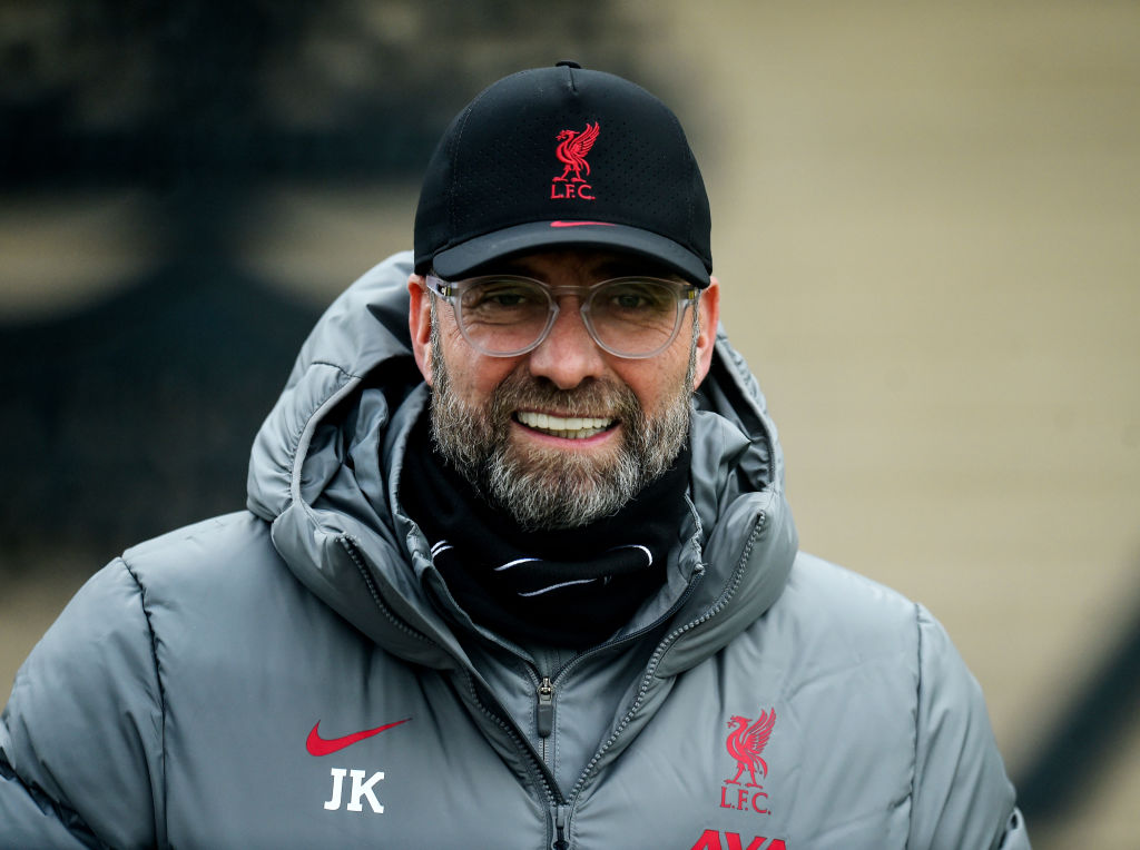 Liverpool Training Session - Jurgen Klopp.