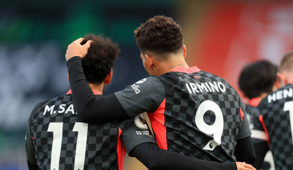 Crystal Palace v Liverpool - Premier League - Firmino and Salah can be a record pair.