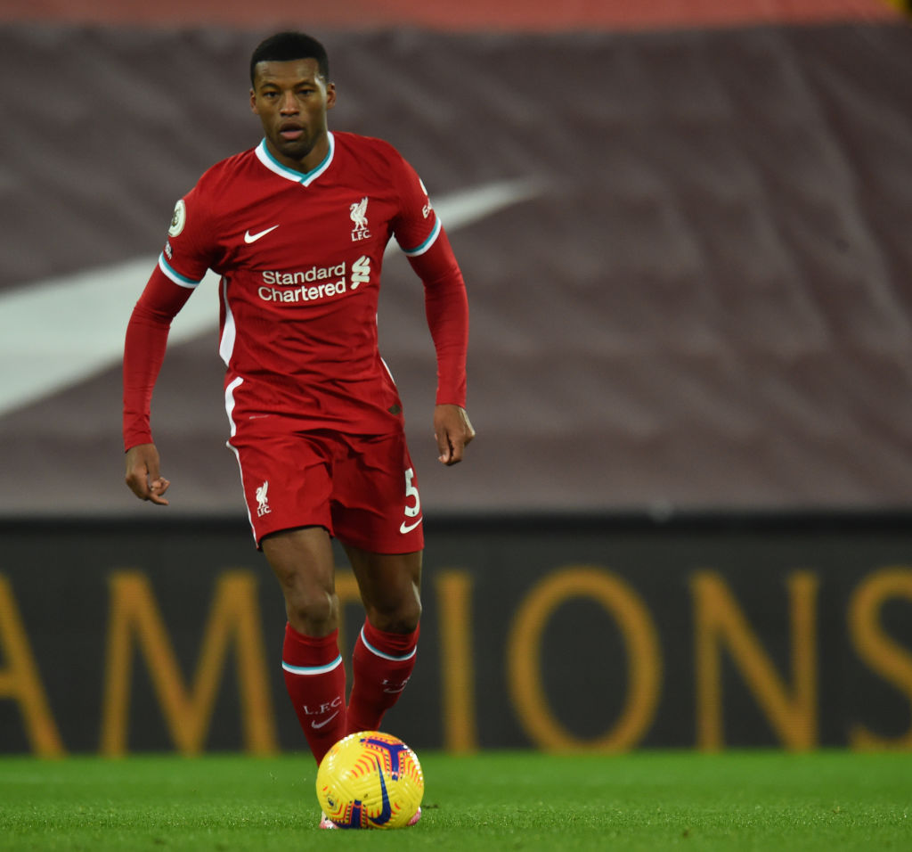 reports in Italy have claimed Wolves also want Gini Wijnaldum.